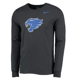 Nike Team Sports TEE, LS, NIKE, NEW LOGO, ANTHRACITE, UK