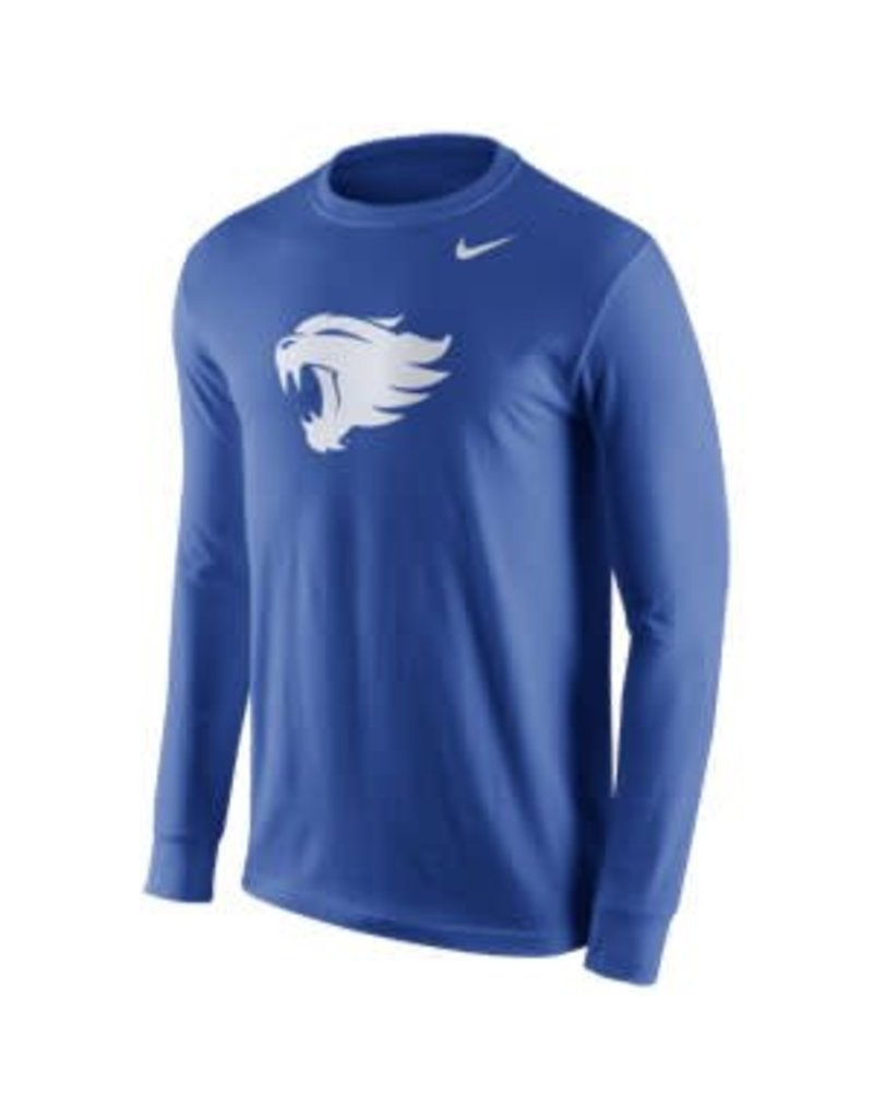 Nike Team Sports TEE, NIKE, LS, LOGO, ROYAL, UK