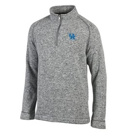 Champion Products PULLOVER, 1/4 ZIP, ARCTIC, GRAY, UK