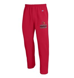 Champion Products PANT, FLEECE, OPEN LEG, RED, UL