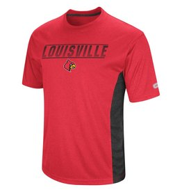 Colosseum Athletics TEE, SS, BEAMER, RED, UL