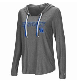Colosseum Athletics HOODY, LADIES, PODIUM, CHARCOAL, UK