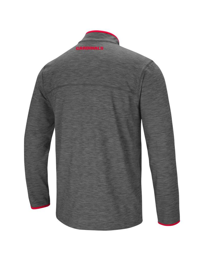 Colosseum Athletics PULLOVER, 1/4 ZIP, DIEMERT, CHARCOAL, UL