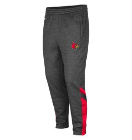 Colosseum Athletics PANT, FLEECE, SOFTWARE, CHAR/RED, UL