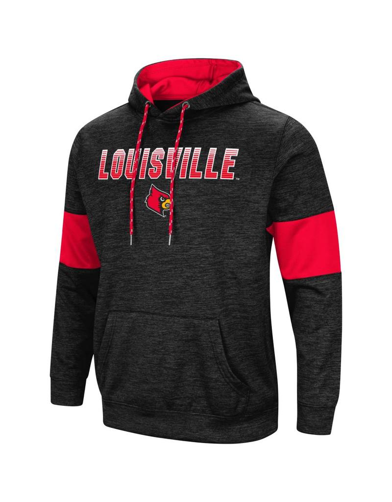 Colosseum Athletics HOODY, PAYCHECK, BLK/RED, UL