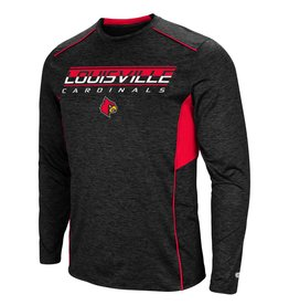 Colosseum Athletics TEE, LS, MAKIN BUCKS, BLK/RED, UL