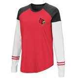 Colosseum Athletics TEE, LADIES, LS, FENCING, RD/BK/WH, UL