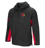 Colosseum Athletics JACKET, FLL ZIP, GIBBONS, CHAR/RED, UL