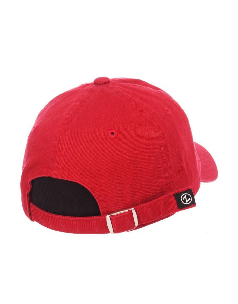 HAT, LADIES, ADJUSTABLE, GIRLFRIEND, RED, UL