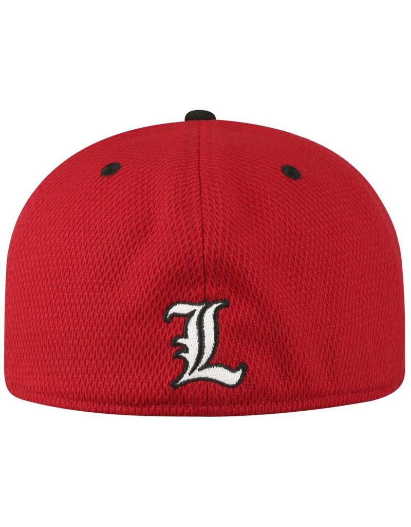 Top of the World HAT, YOUTH, FLEX-FIT, ROCKET, RED/BLK, UL
