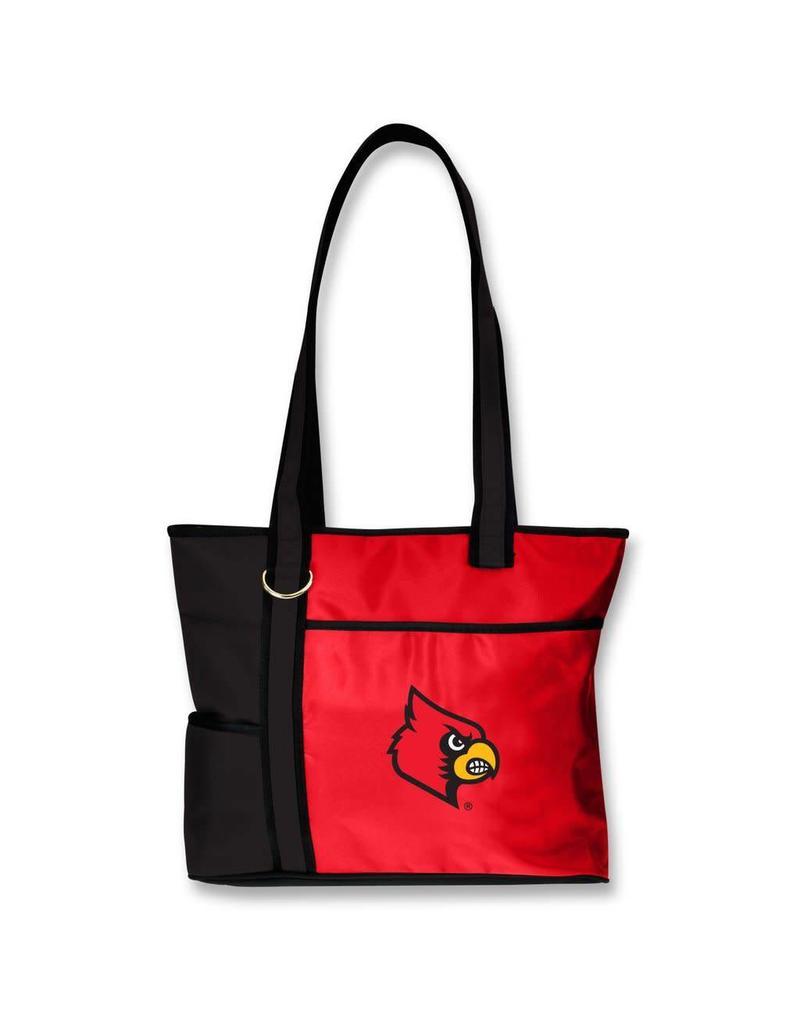 BAG, CARRYALL TOTE, RED/BLACK, UL