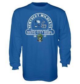 Step Ahead Sportswear *TEE, LS, MUSIC CITY BOWL, ROYAL, UK