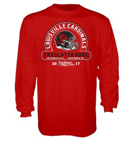 Step Ahead Sportswear *TEE, LS, TAXSLAYER BOWL, RED, UL