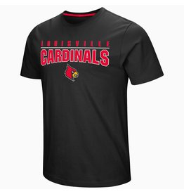 Colosseum Athletics TEE, SS, RESPECT THE GAME, BLACK, UL