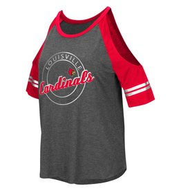 Colosseum Athletics TEE, LADIES, SS, MAE COLD SHOULDER, UL