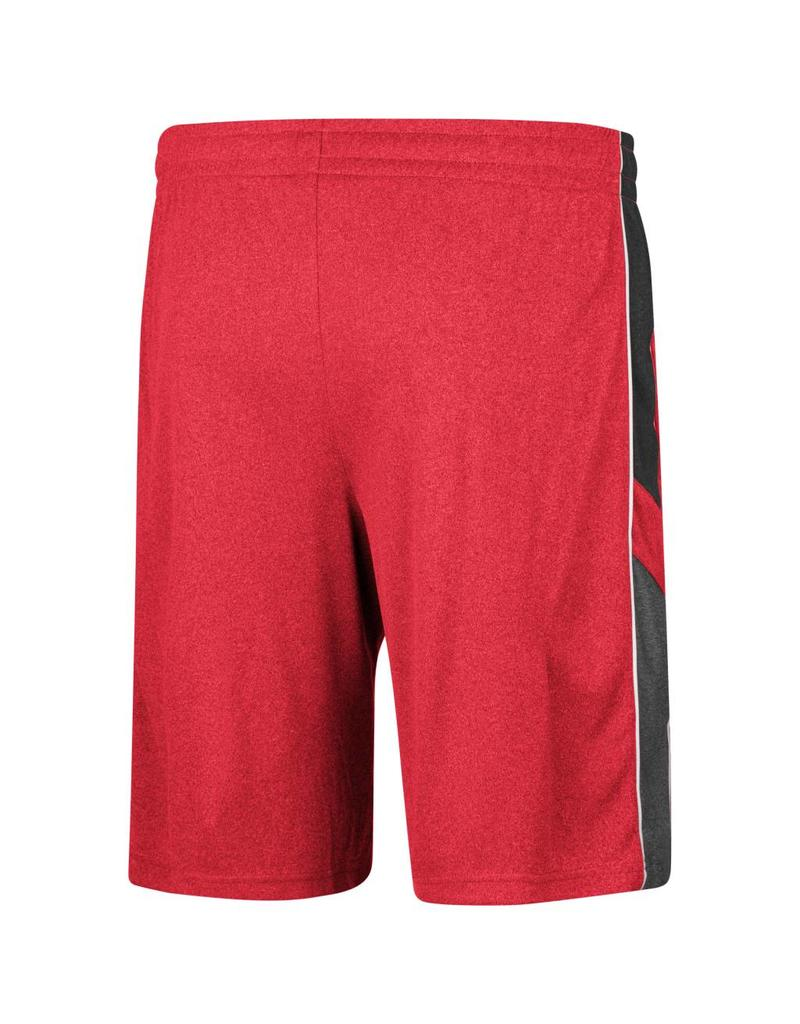 Colosseum Athletics SHORT, POLY, TRIPLE-A (MSRP 40.00), RED, UL