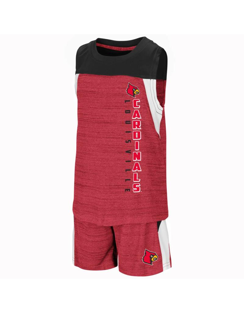 Colosseum Athletics TEE & PANT SET, TODDLER, TITAN, UL