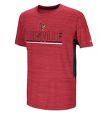 Colosseum Athletics TEE, YOUTH, SS, OVER THE FENCE, RED, UL