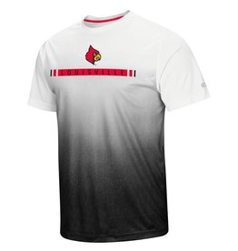 Colosseum Athletics TEE, SS, POLY SUBLIMATED, COSMIC, WHT/BLK, UL