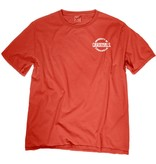Step Ahead Sportswear TEE, SS, RINGSPUN, FESTIVE FANCY, RED, UL