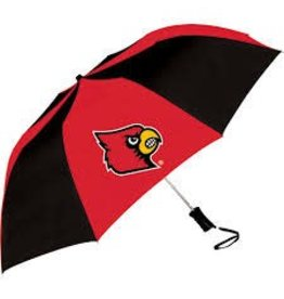 UMBRELLA, SMALL, RED/BLACK, UL