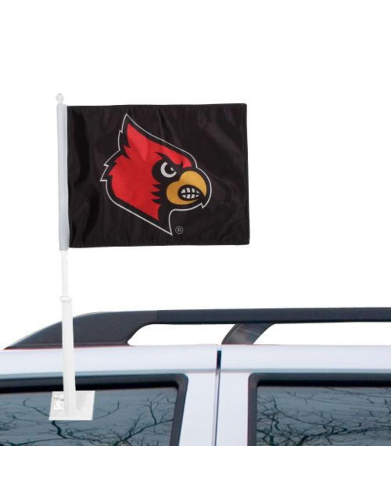 CAR FLAG, HEAD, BLACK, UL