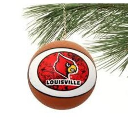 ORNAMENT, GLASS, BASKETBALL, UL