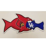 SDS Designs CAR MAGNET, RIVAL FISH, 4 INCH, UL