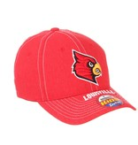 HAT, YOUTH, FLEX FIT, CENTER COURT, RED, UL