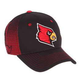 HAT, ADJUSTABLE, GAMEFACE, BLACK/RED, UL