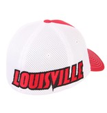HAT, FLEX FIT, RELAY, RED/WHITE, UL