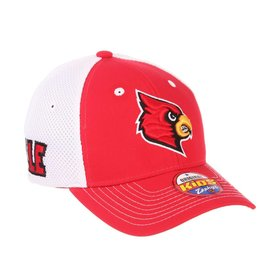 HAT, YOUTH, FLEX FIT, RELAY, RED/WHITE, UL