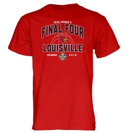 Step Ahead Sportswear TEE, SS, NCAAW, FINAL FOUR, RED, UL
