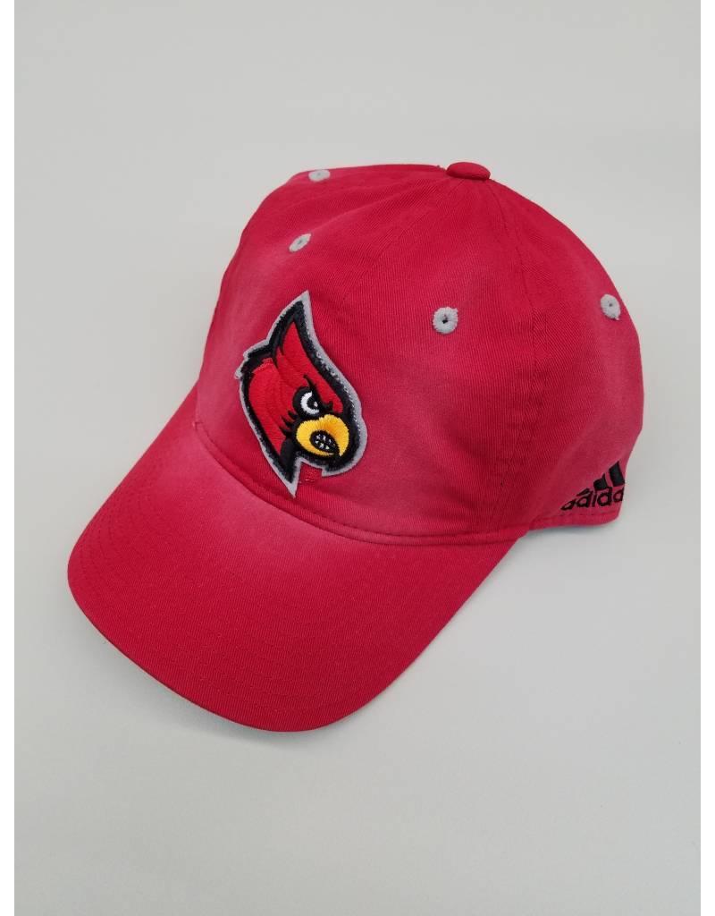Adidas Sports Licensed HAT, ADJUSTABLE, ADIDAS, SANDBLASTED, RED, UL