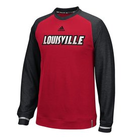 Adidas Sports Licensed CREW, ADIDAS, SIDELINE PLAYER, RED/BLK, UL