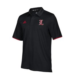 Adidas Sports Licensed POLO, ADIDAS, ICONIC CLIMALITE, BLACK, UL