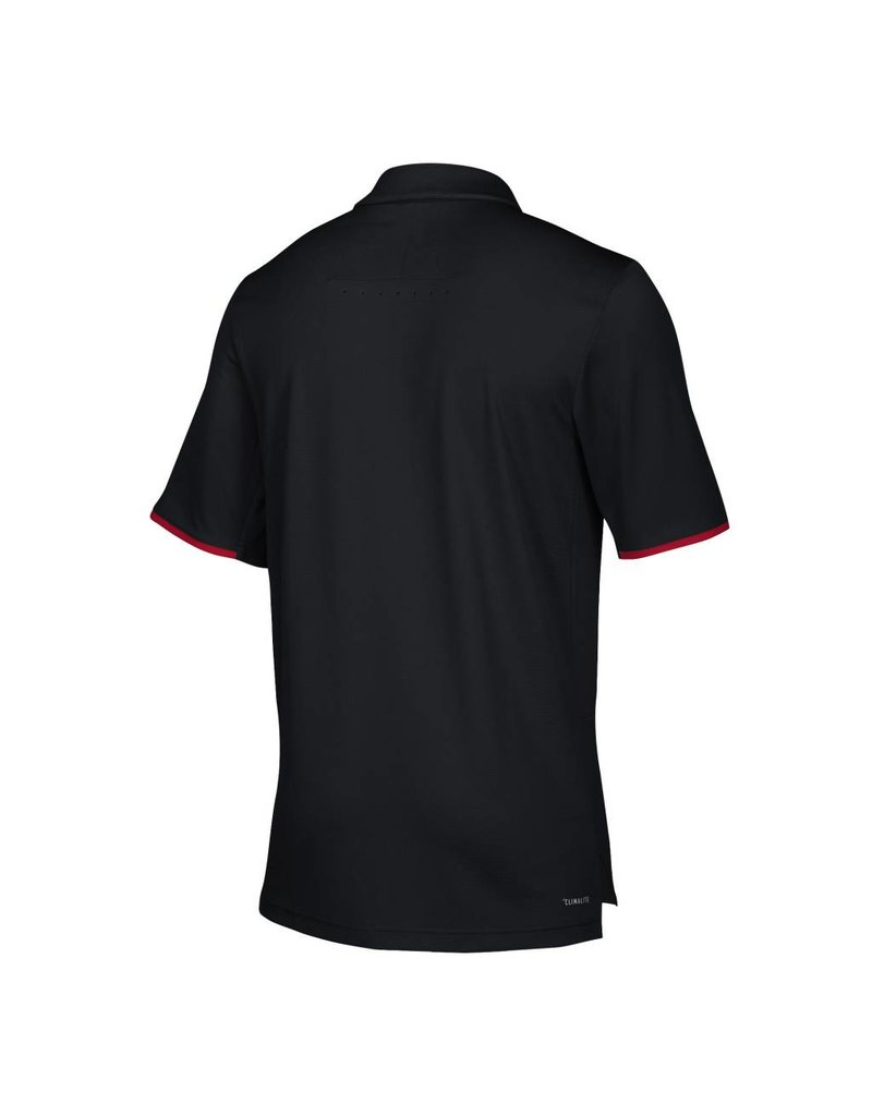 Adidas Sports Licensed POLO, ADIDAS, ICONIC CLIMALITE, BLACK, UL