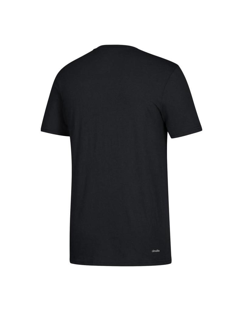Adidas Sports Licensed TEE, SS, ADIDAS, SIDELINE POP, BLACK, UL