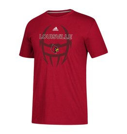 Adidas Sports Licensed TEE, SS, ADIDAS, SIDELINE POP, RED, UL