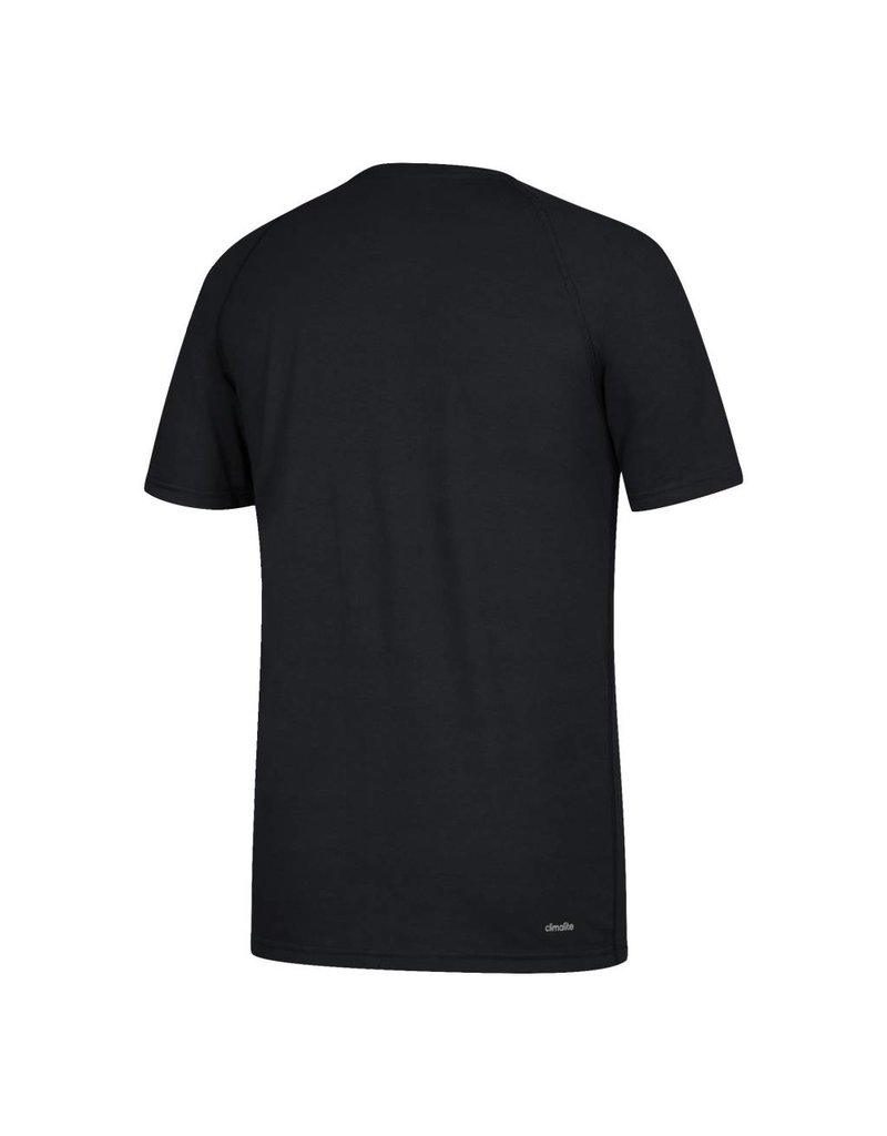Adidas Sports Licensed TEE, SS, ADIDAS, SIDELINE RUSH, BLACK, UL
