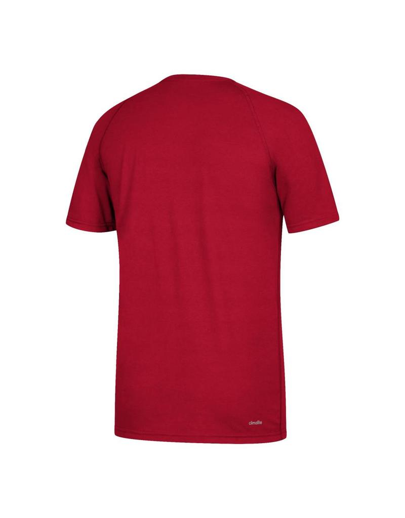 Adidas Sports Licensed TEE, SS, ADIDAS, SIDELINE RUSH, RED, UL