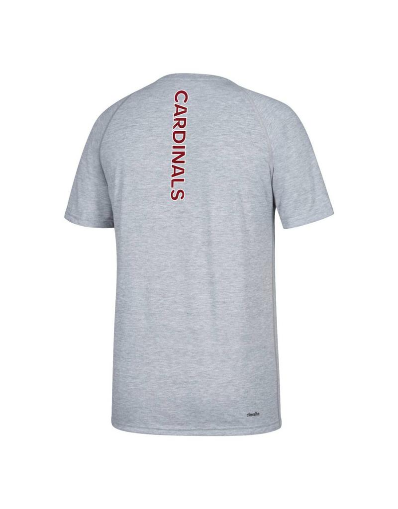 Adidas Sports Licensed TEE, SS, ADIDAS, SIDELINE SEQUEL, GRAY, UL