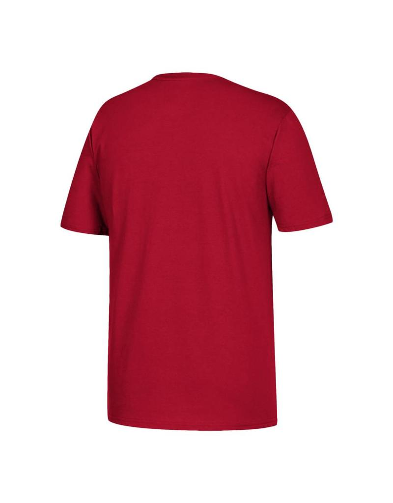 Adidas Sports Licensed TEE, SS, ADIDAS, BASEBALL, RED, UL