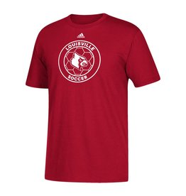 Adidas Sports Licensed TEE, SS, ADIDAS, SOCCER, RED, UL