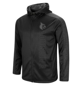 Colosseum Athletics HOODY, FULL ZIP, SEARCH, BLACK, UL