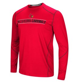 Colosseum Athletics TEE, LS, BAYOUS, RED, UL