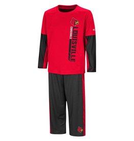 Colosseum Athletics SET, TODDLER, TEE&PANT, WE GOT US, RED/BLK, UL