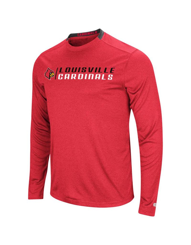 Colosseum Athletics TEE, LS, HYPNO, BLACK, UL