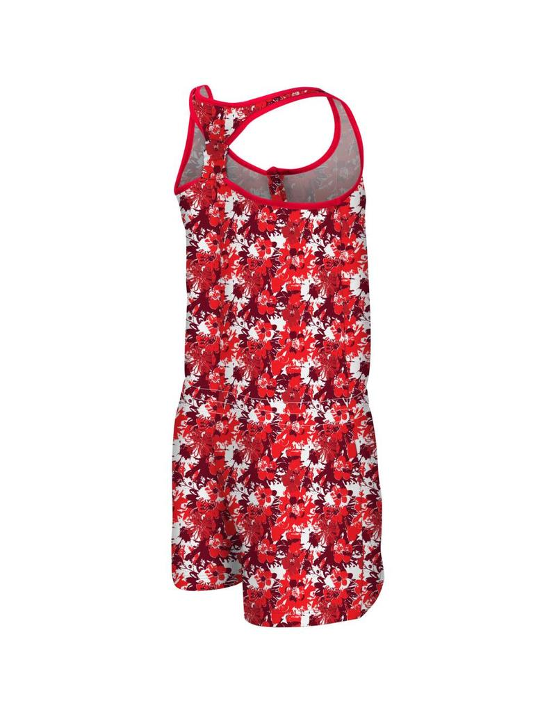 Colosseum Athletics ROMPER, YOUTH, GIRLS, MONICA, RED, UL