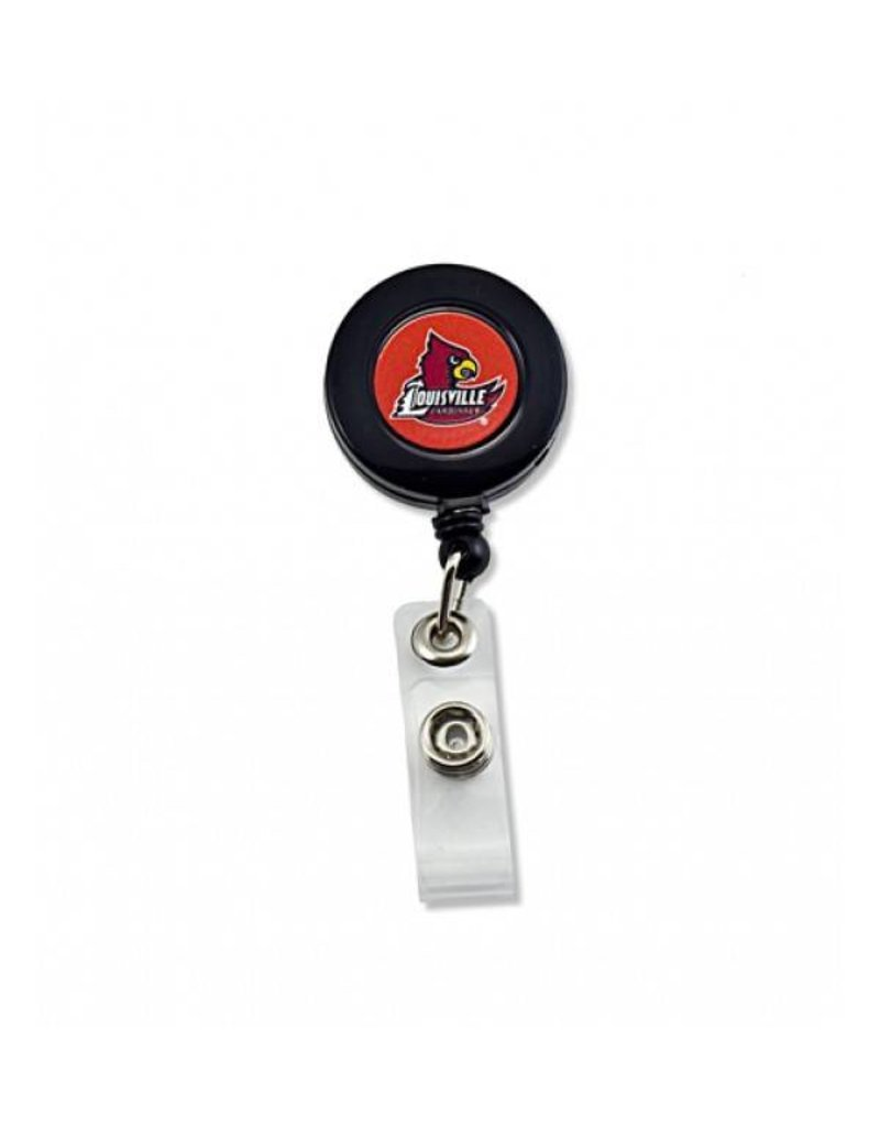BADGE REEL, BLACK, UL